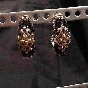 Barbara Bixby Enamel Earrings